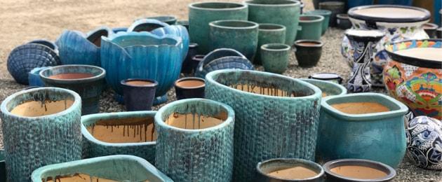 large garden pots