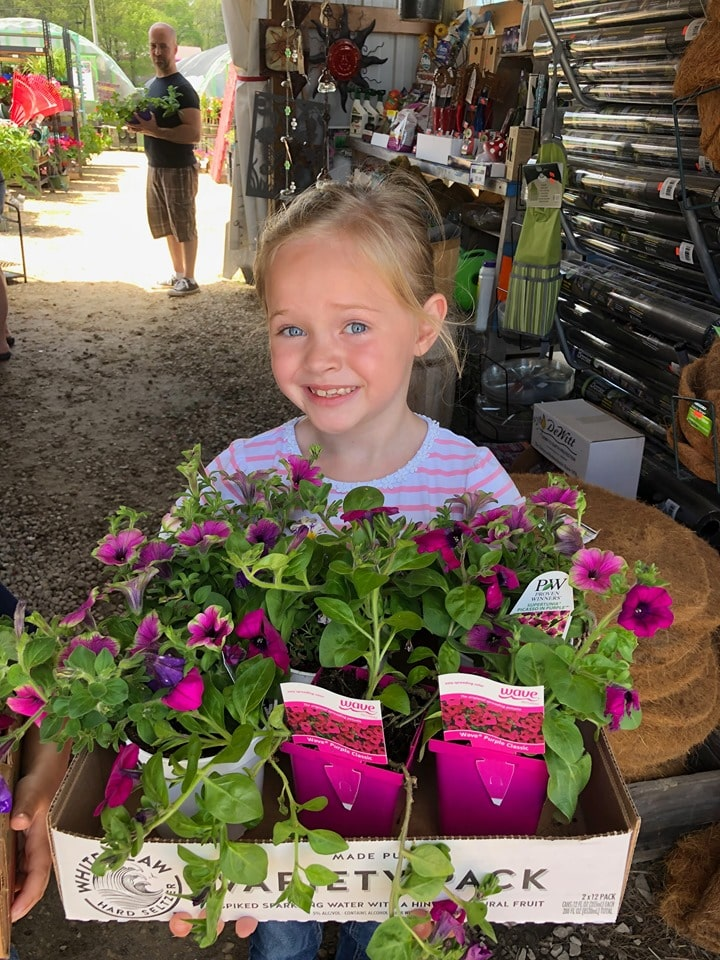 young greenhouse shopper